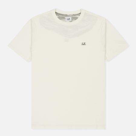 Мужская футболка C.P. Company Goggle Hood Back Print Tapioca