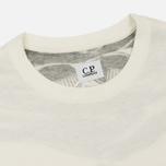 Мужская футболка C.P. Company Goggle Hood Back Print Tapioca фото- 1
