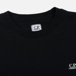 Мужская футболка C.P. Company Goggle Hood Print SS Caviar фото- 1