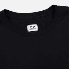 Мужская футболка C.P. Company Goggle Print Regular Fit Black фото- 1