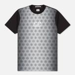 Мужская футболка C.P. Company Honeycomb Black фото- 0