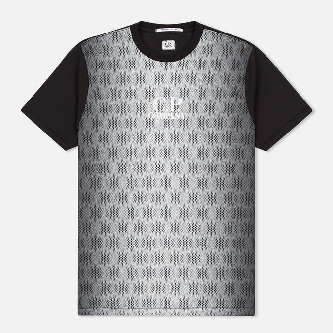 Мужская футболка C.P. Company Honeycomb Black