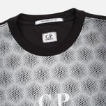 Мужская футболка C.P. Company Honeycomb Black фото- 1