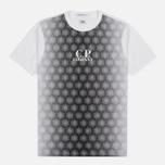 Мужская футболка C.P. Company Honeycomb White фото- 0