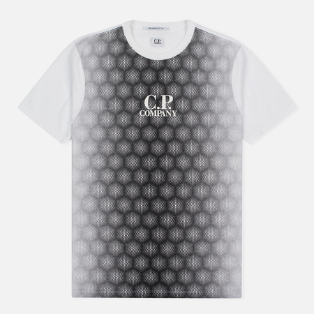 C.P. Company Honeycomb Men's T-Shirt White