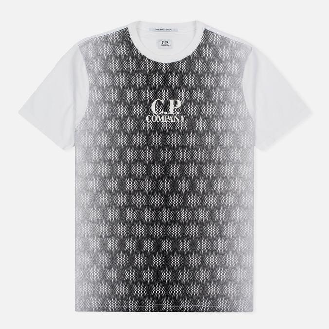 Мужская футболка C.P. Company Honeycomb White