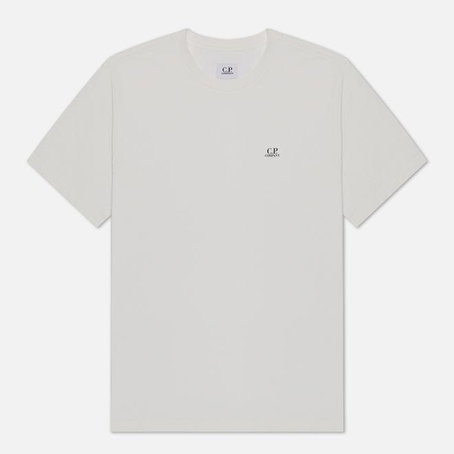 Мужская футболка C.P. Company Jersey 30/1 Chest Logo Gauze White