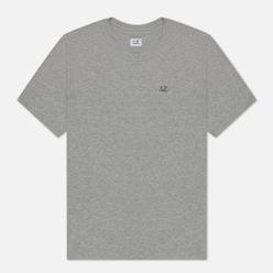 Мужская футболка C.P. Company Jersey 30/1 Chest Logo Grey Melange
