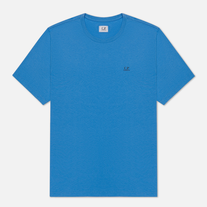 Мужская футболка C.P. Company Jersey 30/1 Chest Logo Riviera