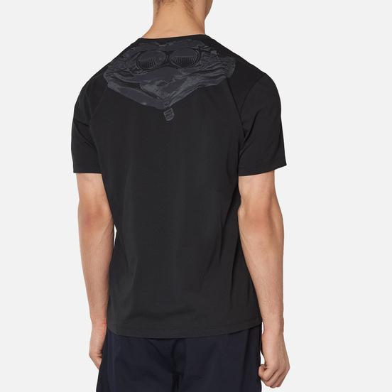 Мужская футболка C.P. Company Jersey 30/1 Goggle Hood Print Black