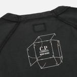 Мужская футболка C.P. Company Jersey Mako Caviar фото- 4