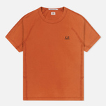 Мужская футболка C.P. Company Jersey Mako Burnt Orange фото- 0