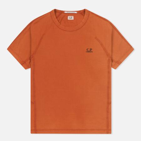 Мужская футболка C.P. Company Jersey Mako Burnt Orange