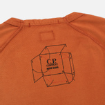 Мужская футболка C.P. Company Jersey Mako Burnt Orange фото- 4