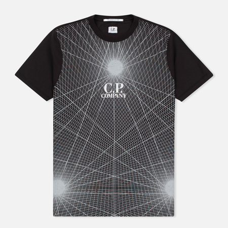C.P. Company Laser Print Men's T-Shirt Black
