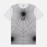 Мужская футболка C.P. Company Laser Print White фото- 0