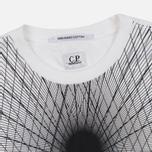 Мужская футболка C.P. Company Laser Print White фото- 1