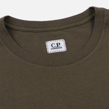 Мужская футболка C.P. Company Lens Pocket Print Regular Fit Dusty Olive фото- 1