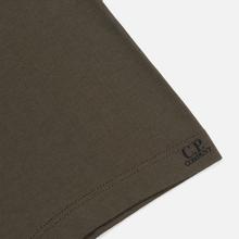 Мужская футболка C.P. Company Lens Pocket Print Regular Fit Dusty Olive фото- 3
