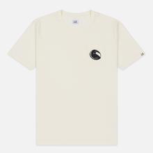 Мужская футболка C.P. Company Lens Pocket Print Regular Fit Gauze White фото- 0