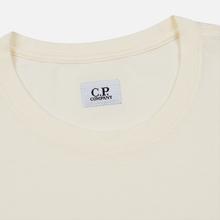 Мужская футболка C.P. Company Lens Pocket Print Regular Fit Gauze White фото- 1