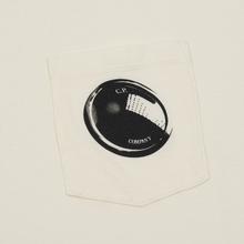 Мужская футболка C.P. Company Lens Pocket Print Regular Fit Gauze White фото- 2