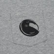 Мужская футболка C.P. Company Lens Pocket Print Regular Fit Grey Melange фото- 2