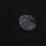 Мужская футболка C.P. Company M/C Pocket Black фото- 2