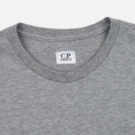 Мужская футболка C.P. Company M/C Pocket Light Grey фото- 2
