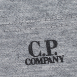 Мужская футболка C.P. Company M/C Pocket Light Grey фото- 3