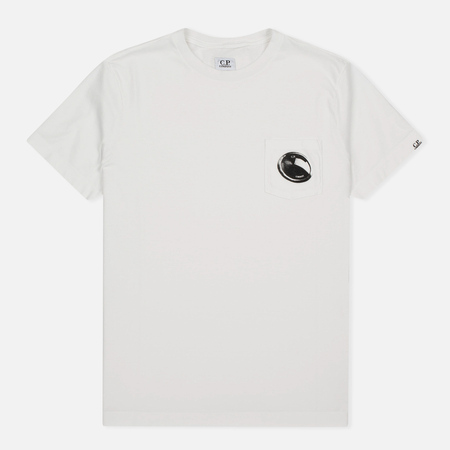 C.P. Company M/C Pocket Men's T-shirt White