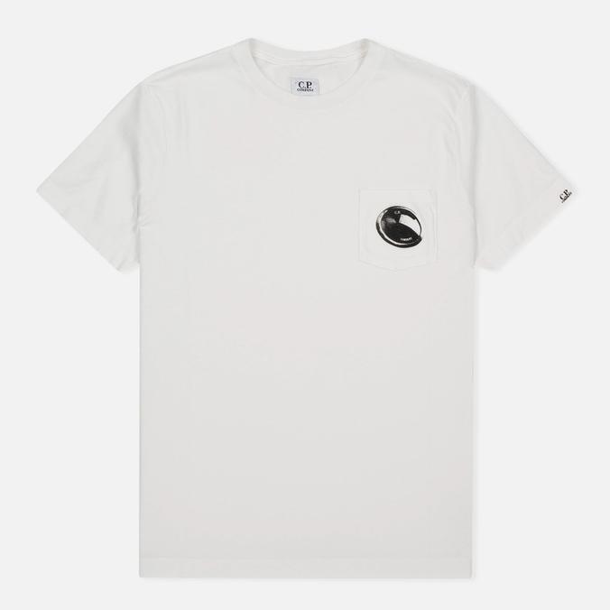 Мужская футболка C.P. Company M/C Pocket White