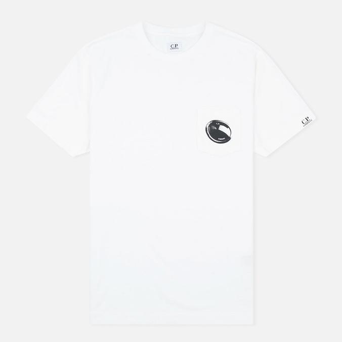 C.P. Company M/C Pocket Men's T-shirt White