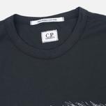 Мужская футболка C.P. Company M/C Scratch Logo Black фото- 3