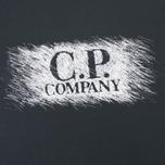 Мужская футболка C.P. Company M/C Scratch Logo Black фото- 2
