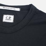 Мужская футболка C.P. Company M/C Scratch Logo Black фото- 1