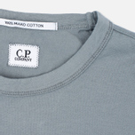 C.P. Company M/C Scratch Logo Men's T-shirt Grey photo- 1