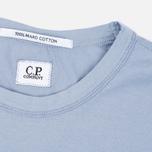 Мужская футболка C.P. Company M/C Scratch Logo Violet Blue фото- 1