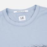 Мужская футболка C.P. Company M/C Scratch Logo Violet Blue фото- 3