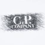 Мужская футболка C.P. Company M/C Scratch Logo White фото- 2