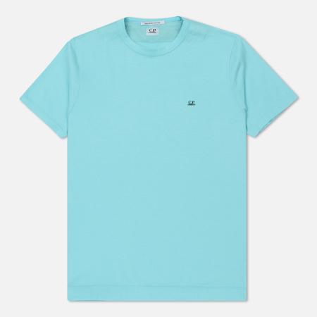 Мужская футболка C.P. Company Mako Cotton Blue Radiance