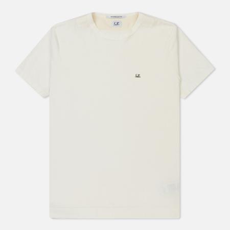 Мужская футболка C.P. Company Mako Cotton Tapioca White