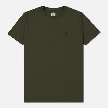 Мужская футболка C.P. Company Print Hood Back Goggle Dark Olive