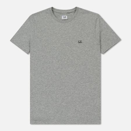 Мужская футболка C.P. Company Print Hood Back Goggle Grey Melange