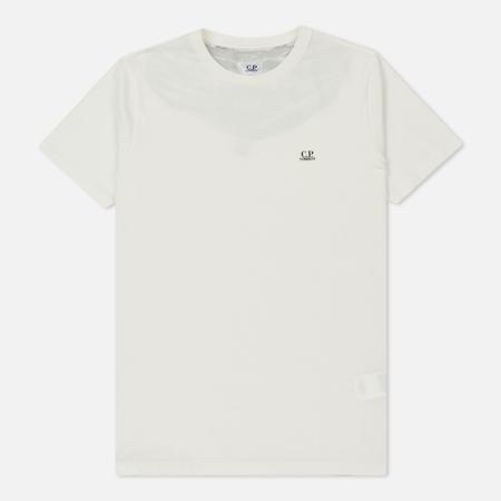 Мужская футболка C.P. Company Print Hood Back Goggle Tapioca White