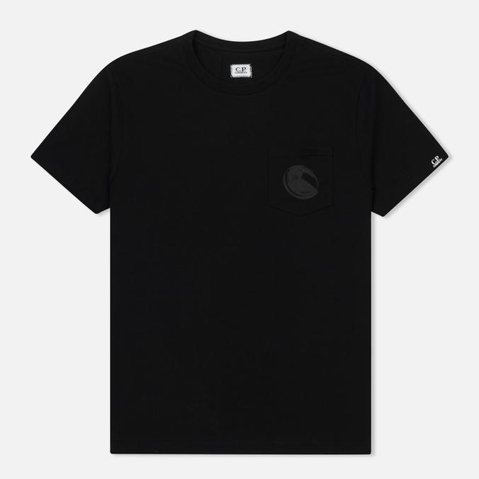 Мужская футболка C.P. Company Printed Lens Pocket Caviar