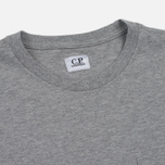 Мужская футболка C.P. Company Printed Pocket SS Grey Melange фото- 1