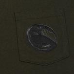 Мужская футболка C.P. Company Printed Pocket SS Moss фото- 2