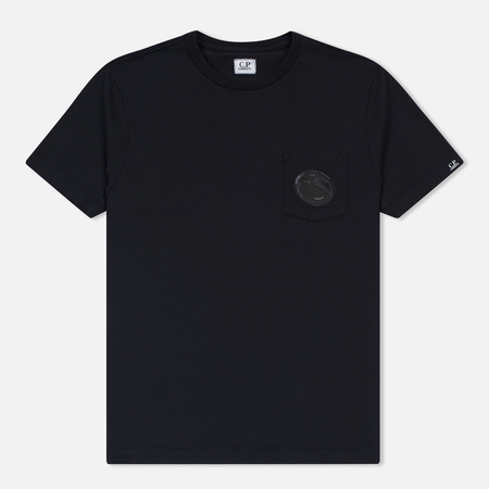 Мужская футболка C.P. Company Printed Pocket SS Total Eclipse