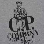 Мужская футболка C.P. Company Sailor Print SS Grey Melange фото- 2